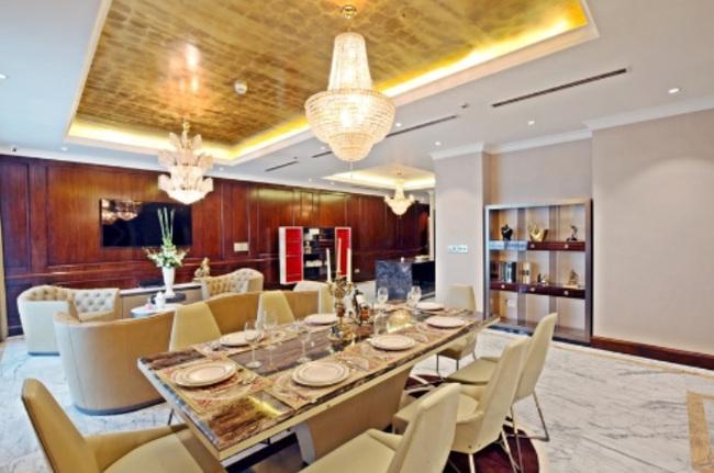 Chiêm ngưỡng nội thất dát vàng những căn hộ sang trọng bậc nhất Việt Nam
