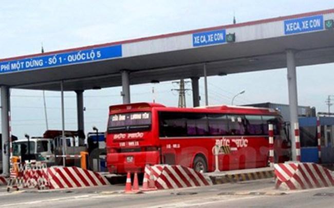 Dự kiến các trạm thu phí sẽ được quản lý trực tuyến theo đề xuất của Tổng cục Đường bộ