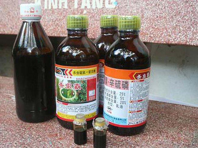 Chi gần 52 triệu USD nhập thuốc trừ sâu Trung Quốc