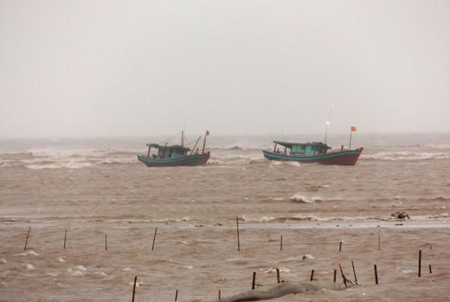 Bão số 1 đổ bộ vào Nam Định, gió giật cấp 7-8