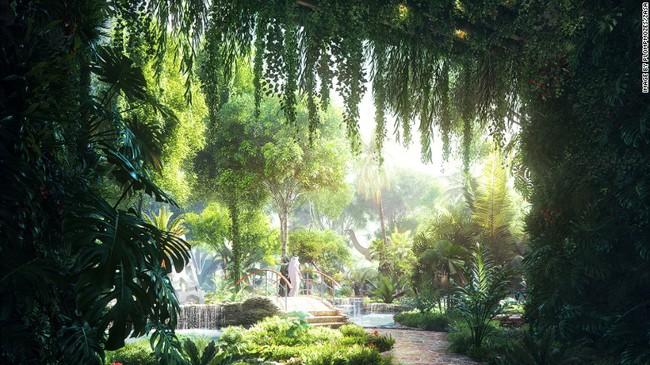 Dubai xây rừng nhiệt đới công nghệ cao bên trong… khách sạn