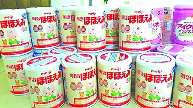 Tổng cục Hải quan lên tiếng vụ sữa Meiji nhập khẩu