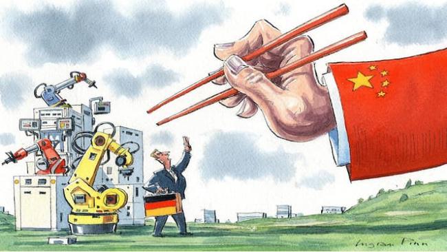 """Không thể đánh bại, Trung Quốc """"nuốt chửng"""" các doanh nghiệp Châu Âu"""
