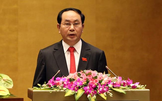 Ông Trần Đại Quang được đề cử làm Chủ tịch nước nhiệm kỳ mới