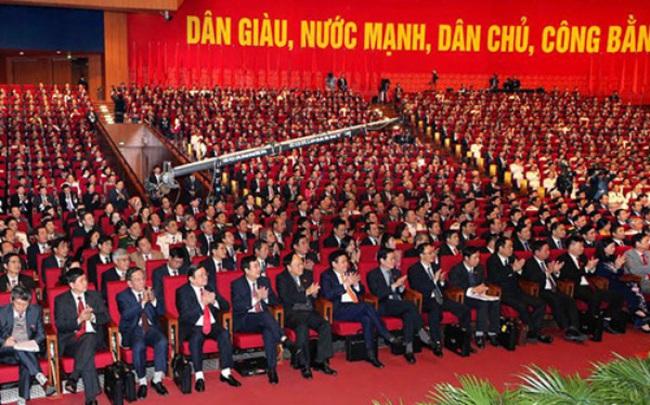 1.510 đại biểu dự Đại hội 12 đều đủ tư cách