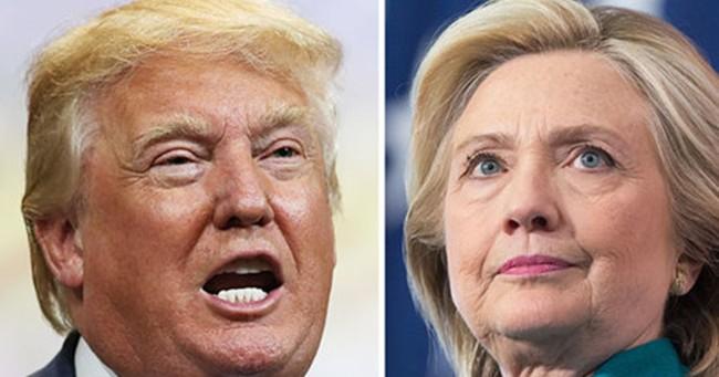 Dư luận trước Bầu cử Mỹ: Bà Clinton ngày càng bỏ xa Donald Trump