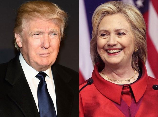Bà Hillary Clinton giành lại ưu thế trước đối thủ Donald Trump