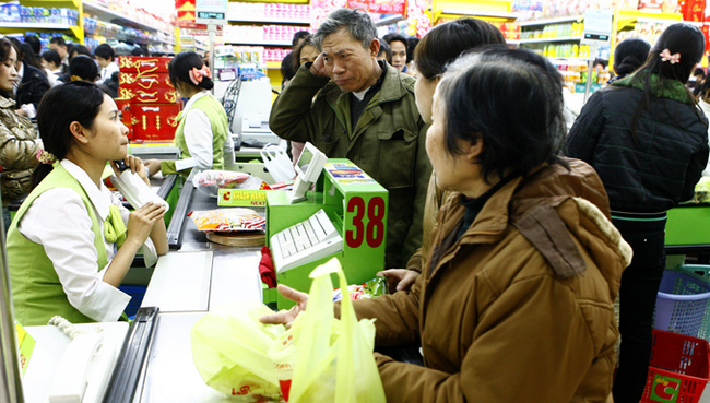 Thực phẩm tăng giá chóng mặt