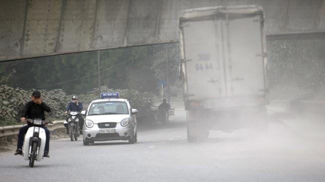 Ô nhiễm không khí ở Hà Nội lên mức nguy hại
