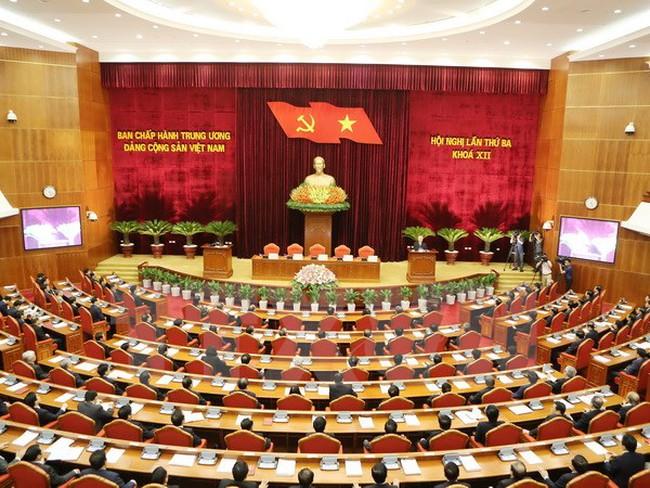 Bế mạc Hội nghị lần thứ ba Ban Chấp hành TW Đảng khóa XII