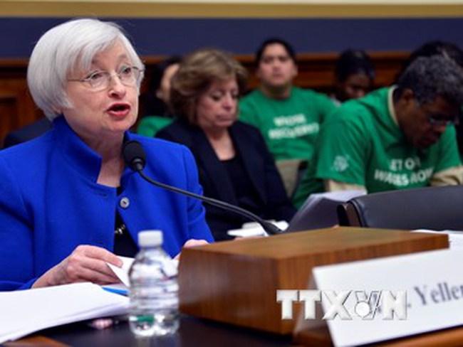 Chủ tịch Fed quan ngại về các nguy cơ đe dọa triển vọng kinh tế Mỹ