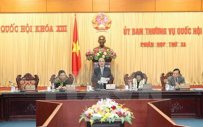 Miễn nhiệm một Phó Chủ tịch Quốc hội và 7 Ủy viên Thường vụ Quốc hội