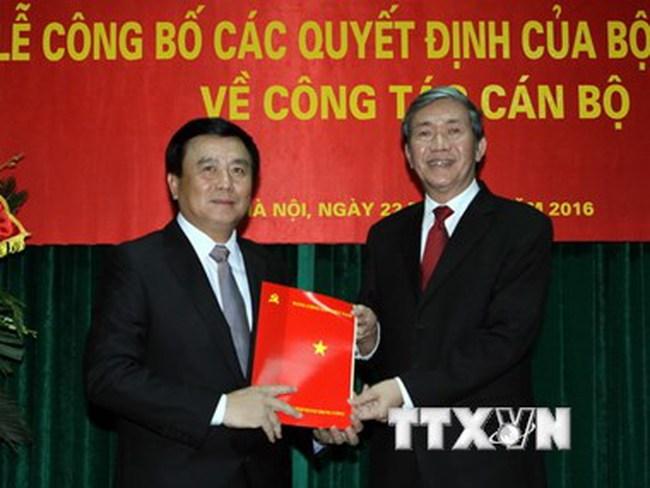 Ông Nguyễn Xuân Thắng giữ chức Giám đốc Học viện Chính trị Quốc gia