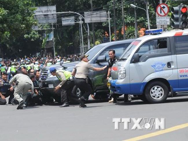 IS chính thức nhận trách nhiệm tấn công khủng bố tại Jakarta