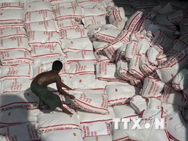 Thái Lan đứng đầu thế giới về xuất khẩu gạo trong quý đầu năm