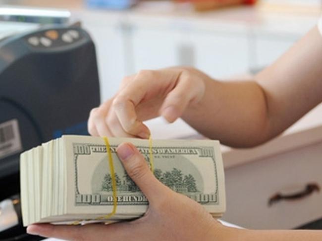 Tỷ giá trung tâm bật tăng 9 đồng lên 21.910 đồng