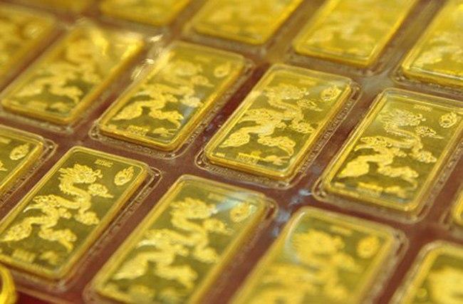 Giá vàng lại về dưới 37 triệu đồng/lượng