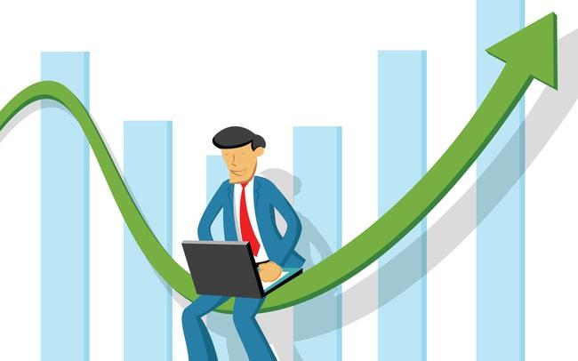Hàng loạt cổ phiếu tăng rực rỡ, VnIndex bứt phá gần 13 điểm