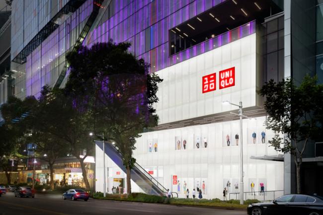 Uniqlo mở cửa hàng lớn nhất Đông Nam Á ở Singapore