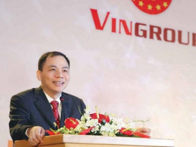 Vingroup phát hành trên 213 triệu CP trả cổ tức, vợ chồng ông Phạm Nhật Vượng nhận gần 69 triệu cp mới