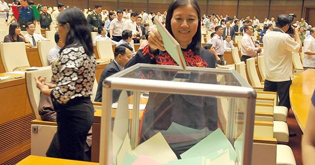 Công bố kết quả bầu 12 chức vụ quan trọng trong Quốc hội khóa XIV