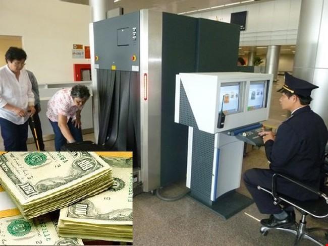 Mang tiền, vàng xuất nhập cảnh không khai báo, phạt ra sao?