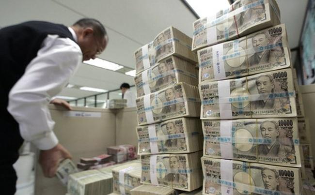 Đồng Yên tăng cao nhất trong 1 năm rưỡi