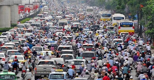 3,5 triệu xe máy, 2,5 triệu ôtô nằm trong các nguồn gây ô nhiễm