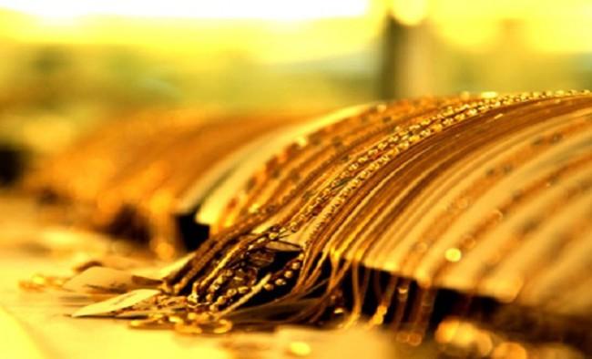 Vàng trong nước chỉ còn cao hơn thế giới 1,17 triệu đồng mỗi lượng