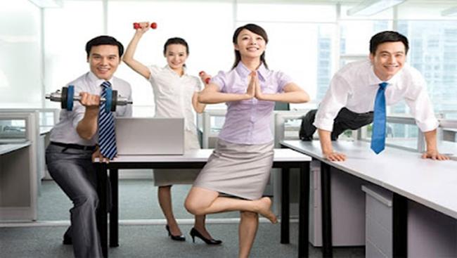 6 động tác thể dục dành riêng cho dân văn phòng