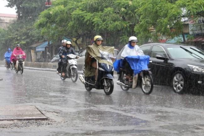 Ảnh hưởng không khí lạnh, Bắc Bộ mưa to trời chuyển rét