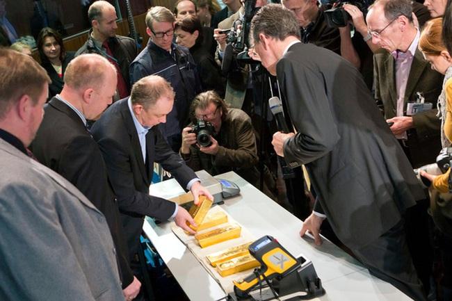 Đức chuyển xong số vàng 31 tỷ USD về nước