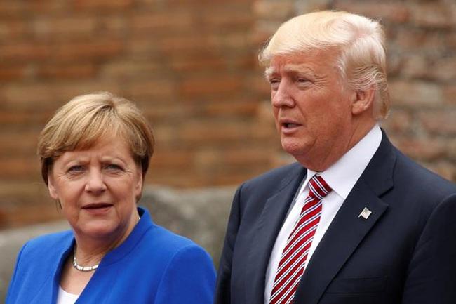 Bà Merkel phát thông điệp về liên minh Mỹ-EU sau cuộc gặp ông Trump
