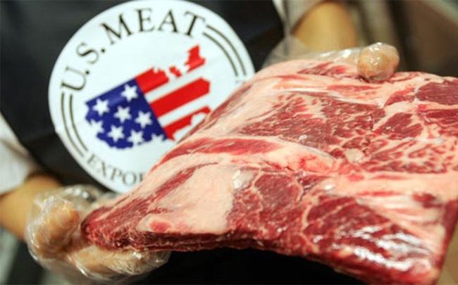 """Thịt bò Mỹ """"tái xuất"""" ở Trung Quốc sau 14 năm cấm nhập"""