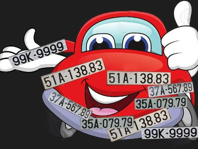 Thí điểm đấu giá biển số xe tại 5 tỉnh, thành phố