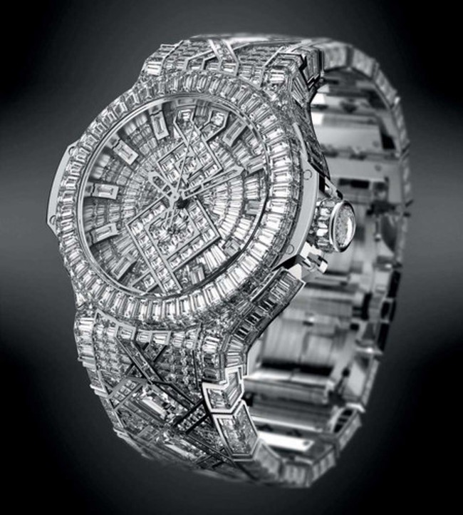 Chiêm ngưỡng những chiếc đồng hồ Hublot đắt nhất thế giới