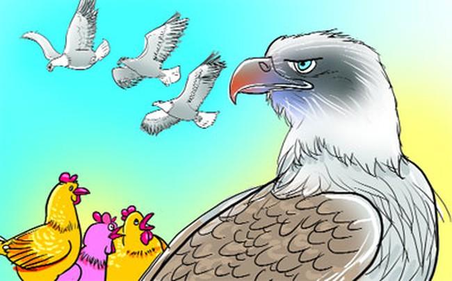 Bài học từ chuyện của đại bàng và gà: Muốn thành công trước hết phải vượt qua được giới hạn của bản thân