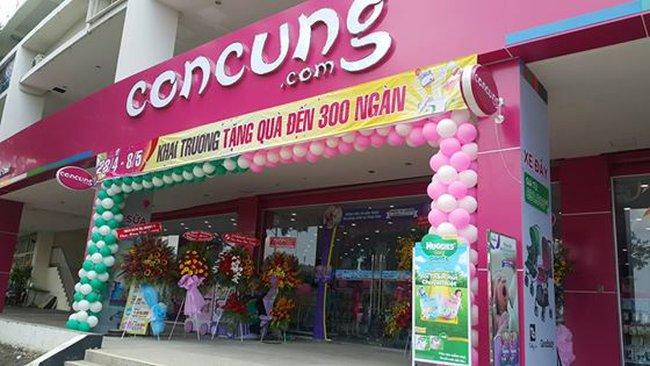 Quỹ đầu tư do SSI quản lý đã đầu tư vào hệ thống siêu thị bán lẻ Concung.com cho Mẹ bầu & Em bé