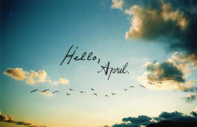 Nóng lòng chờ… Tháng Tư về