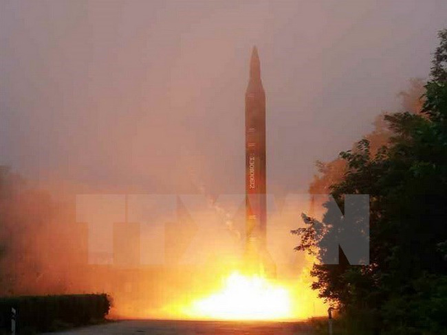Hàn Quốc và Nhật Bản xác nhận Triều Tiên đã phóng tên lửa