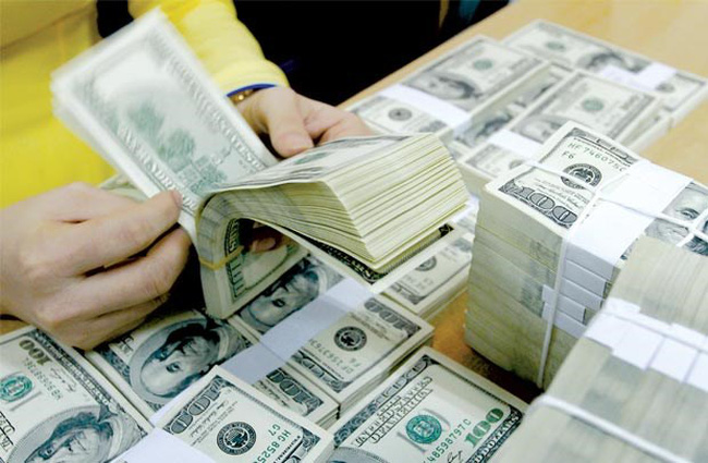 Dự trữ ngoại hối 45 tỷ USD, cuối năm, tỷ giá trong tầm kiểm soát