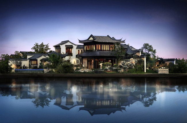 """Mê mẩn trước căn biệt thự đẹp như chốn """"bồng lai tiên cảnh"""" của tỷ phú Jack Ma"""