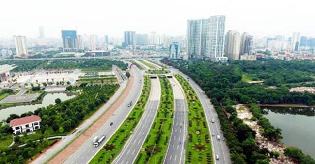 """Hà Nội xây """"thành phố vườn"""" kiểu mẫu bên Đại lộ Thăng Long"""