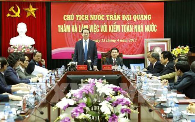 Chủ tịch nước đề nghị đưa dự án sử dụng vốn vay nước ngoài vào danh mục kiểm toán