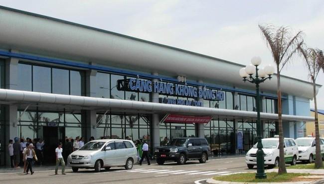 Chưa xây thêm nhà ga mới sân bay Đồng Hới