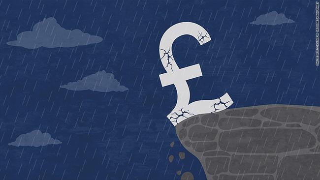 Đồng bảng rơi 2% và khả năng nước Anh sẽ không có chính phủ trong 11 ngày