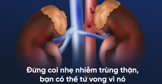 3 dấu hiệu cảnh báo nhiễm trùng thận: Nắm vững để không gặp hậu quả nặng nề