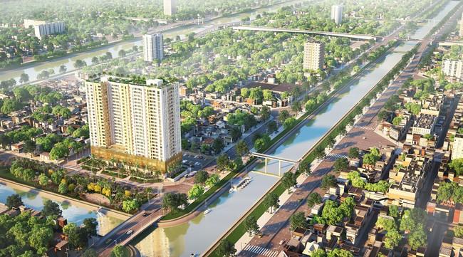 Thị trường BĐS Tp.HCM có thêm dự án căn hộ mới tại Quận 8, tổng mức đầu tư 780 tỷ