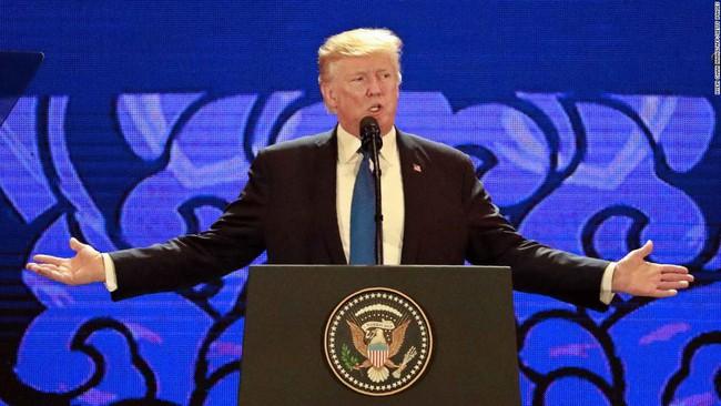 Kết thúc chuyến công du châu Á, Tổng thống Trump tuyên bố từ nay luật lệ thương mại đã thay đổi - ảnh 1