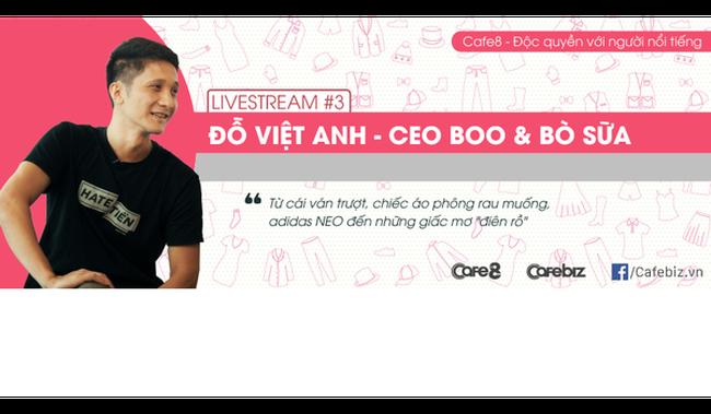 Ông chủ chuỗi Boo - Bò Sữa: Từ cái ván trượt, chiếc áo phông rau muống đến hệ thống 20 cửa hàng đình đám